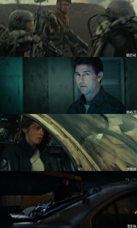 Edge Of Tomorrow 2014 BluRay 720p 480p Dual Audio Hindi English Full Movie Download