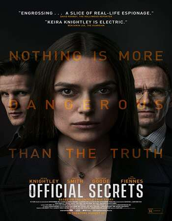 Official Secrets 2019 English 720p Web-DL 850MB ESubs