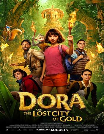 Dora and the Lost City of Gold 2019 Hindi ORG Dual Audio 500MB BluRay 720p ESubs HEVC