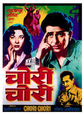 Chori Chori 1956 Full Hindi Movie 720p HDRip Download
