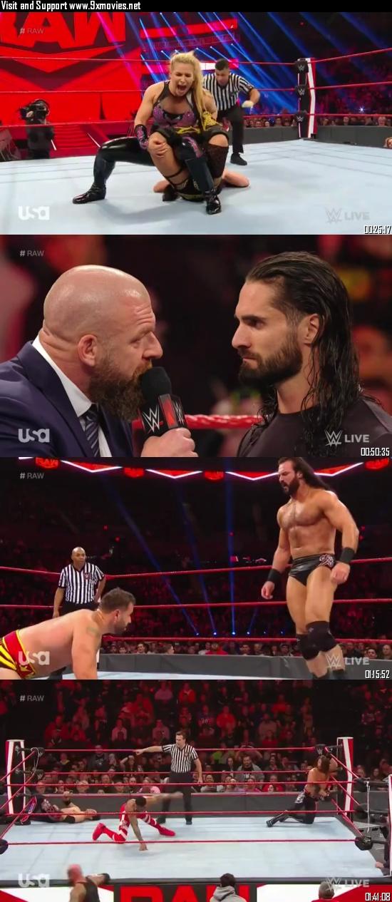 WWE Monday Night Raw 04 November 2019 HDTV 720p 480p 500MB