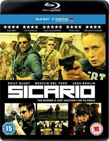 Sicario 2015 Dual Audio Hindi 720p BluRay 1GB