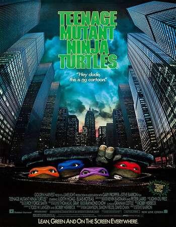 Teenage Mutant Ninja Turtles 1990 Hindi Dual Audio 720p BluRay ESubs