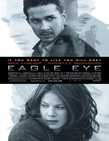 Eagle Eye 2008 Hindi Dual Audio BRRip Full Movie 720p Download