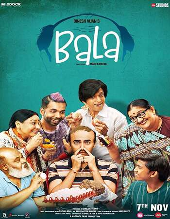 Bala 2019 Hindi 650MB HDRip 720p HEVC