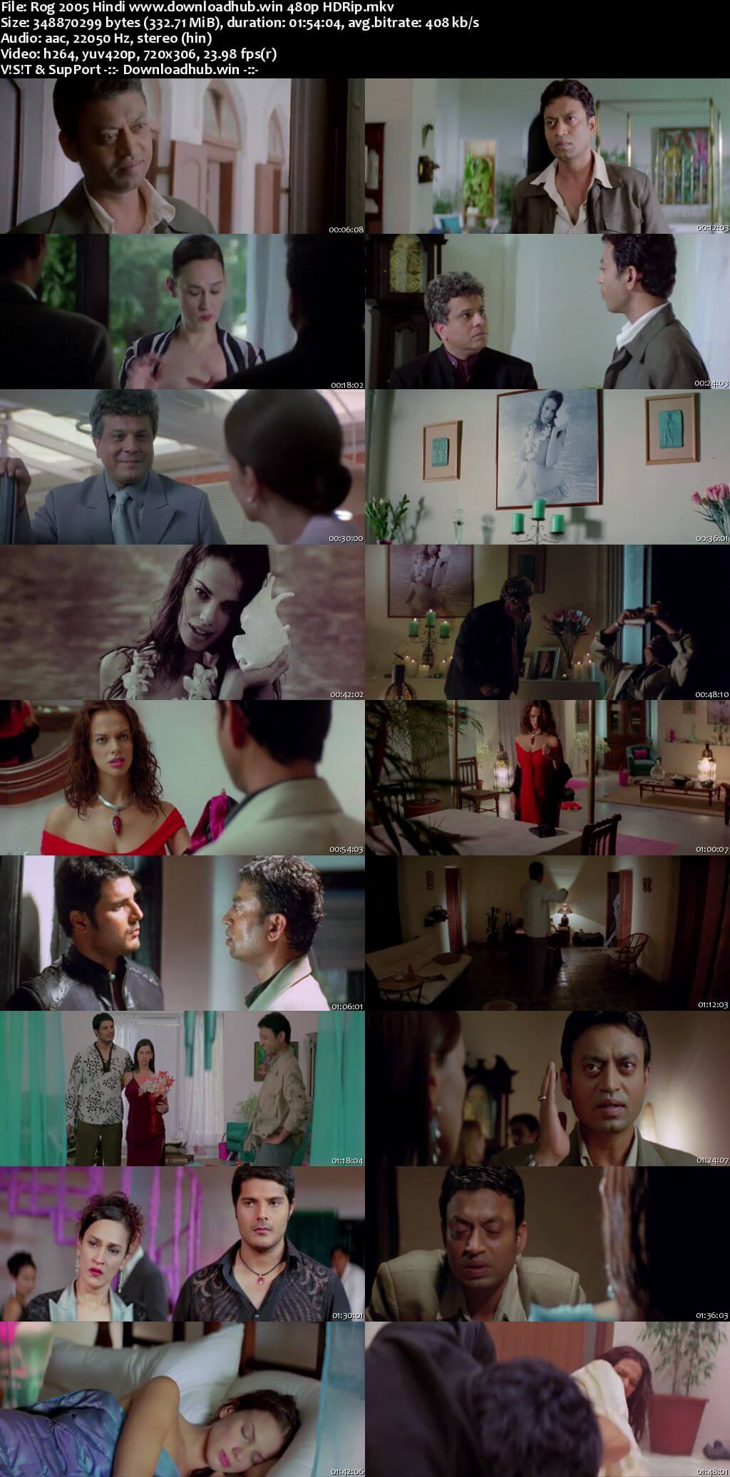 Rog 2005 Hindi 300MB HDRip 480p
