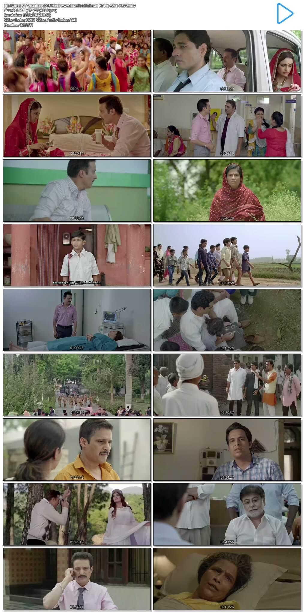 S P Chauhan 2018 Hindi 600MB HDRip 720p HEVC
