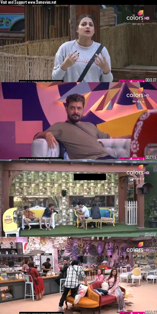 Bigg Boss 07 November 2019 HDTV 720p 480p 550MB