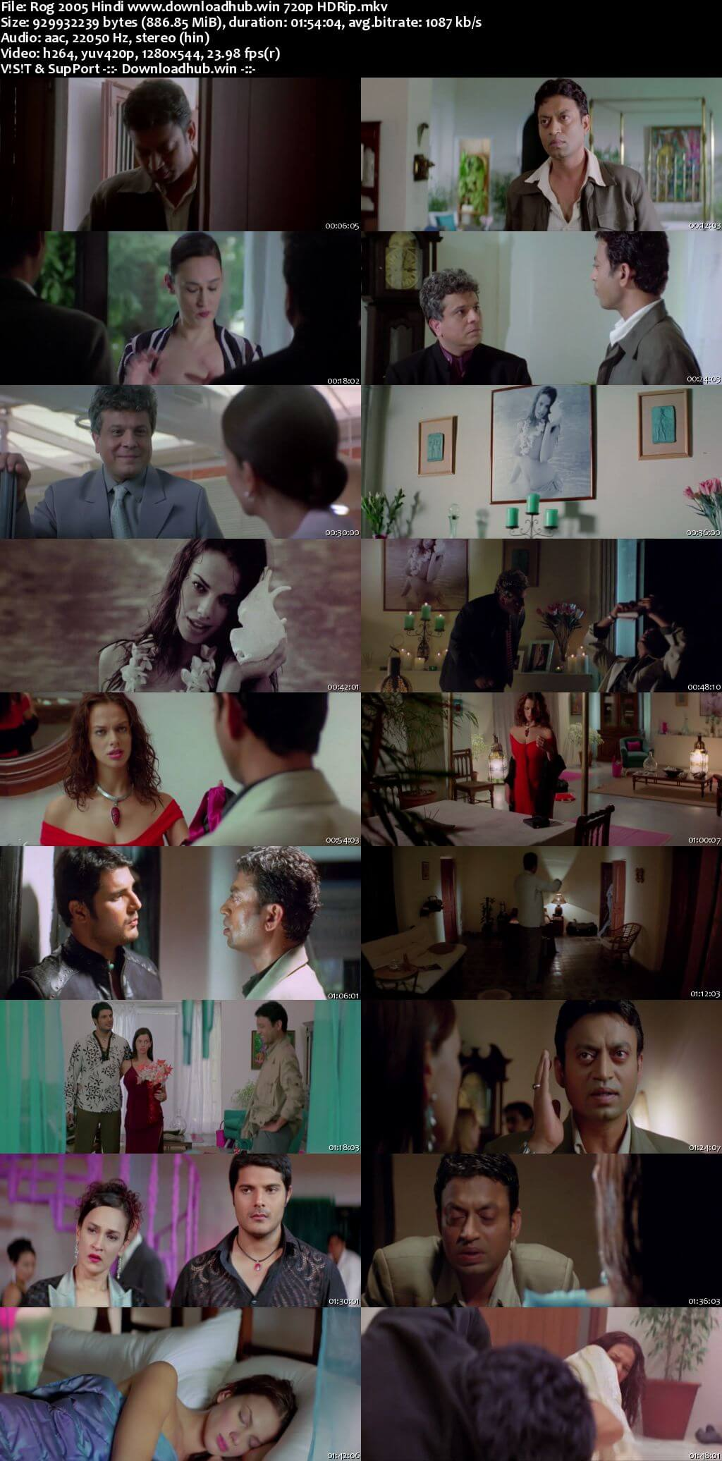 Rog 2005 Hindi 720p HDRip x264