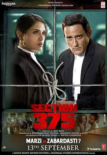 Section 375 (2019) Hindi Movie Download