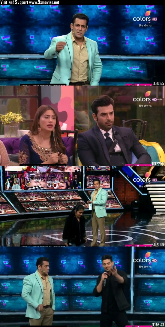 Bigg Boss 09 November 2019 HDTV 720p 480p 600MB