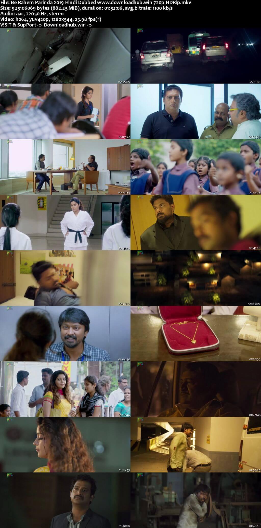 Be Rahem Parinda 2019 Hindi Dubbed 720p HDRip x264