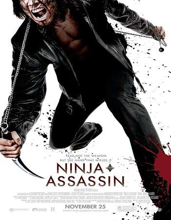 Ninja Assassin 2009 Hindi Dual Audio 300MB BluRay 480p