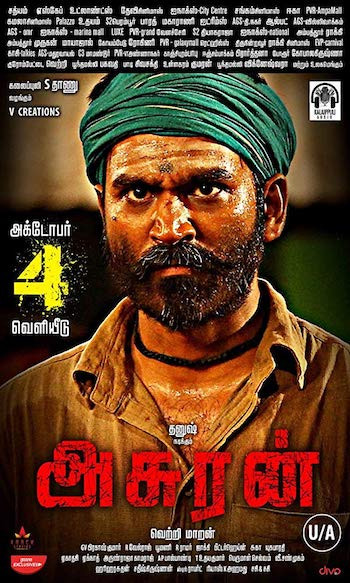 Asuran 2019 Tamil 720p HDRip 1GB ESubs