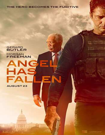 Angel Has Fallen 2019 English 350MB AMZN Web-DL 480p ESubs
