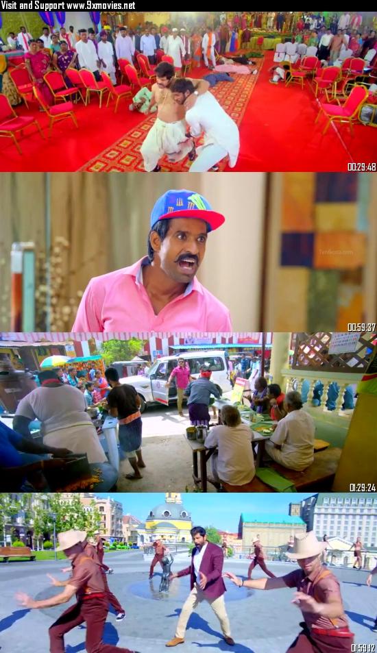 Saamy 2 (2018) UNCUT Dual Audio Hindi 720p HDRip 1.2GB