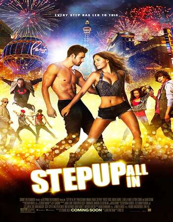 Step Up All In 2014 Hindi Dual Audio 550MB BluRay 720p ESubs HEVC