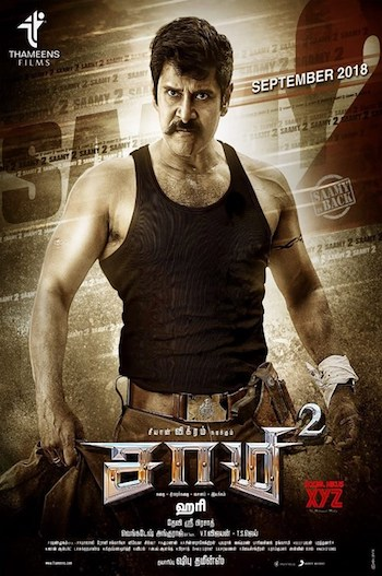 Saamy 2 (2018) Dual Audio 720p UNCUT HDRip [Hindi – Tamil] ESubs