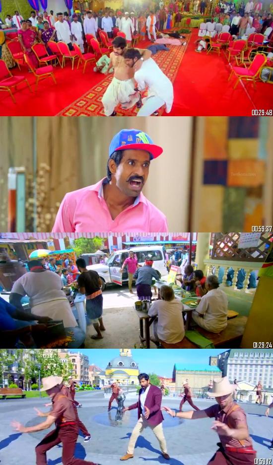 Saamy 2 (2018) UNCUT HDRip 720p 480p Dual Audio Hindi Tamil Full Movie Download