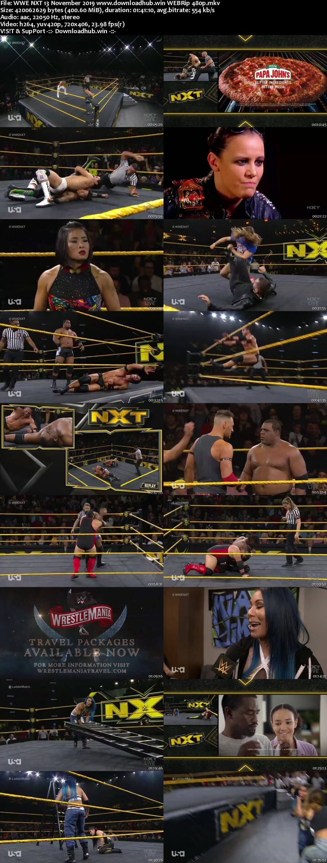 WWE NXT 13th November 2019 400MB HDTV 480p