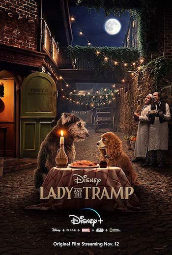 Lady and The Tramp 2019 English 720p WEB-DL 800MB ESubs