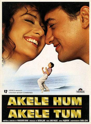 Akele Hum Akele Tum 1995 Hindi 720p HDRip 1.1GB