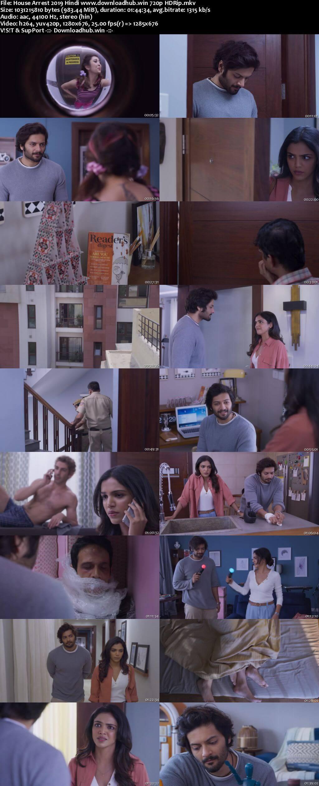 House Arrest 2019 Hindi 720p HDRip x264