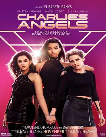 Charlies Angels 2019 Hindi (Cleaned) Dual Audio 600MB Web-DL 720p ESubs HEVC