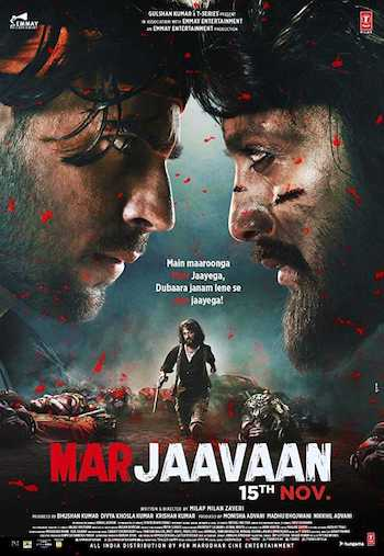 Marjaavaan 2019 Hindi 720p 480p pDVDRip