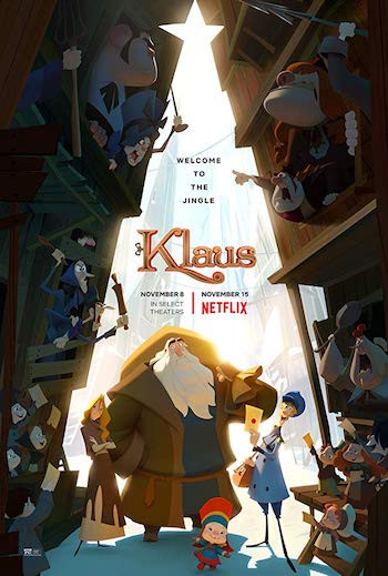 Klaus 2019 Hindi Dual Audio 300MB Web-DL 480p ESubs
