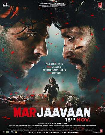 Marjaavaan 2019 Hindi 1080p HDRip ESubs