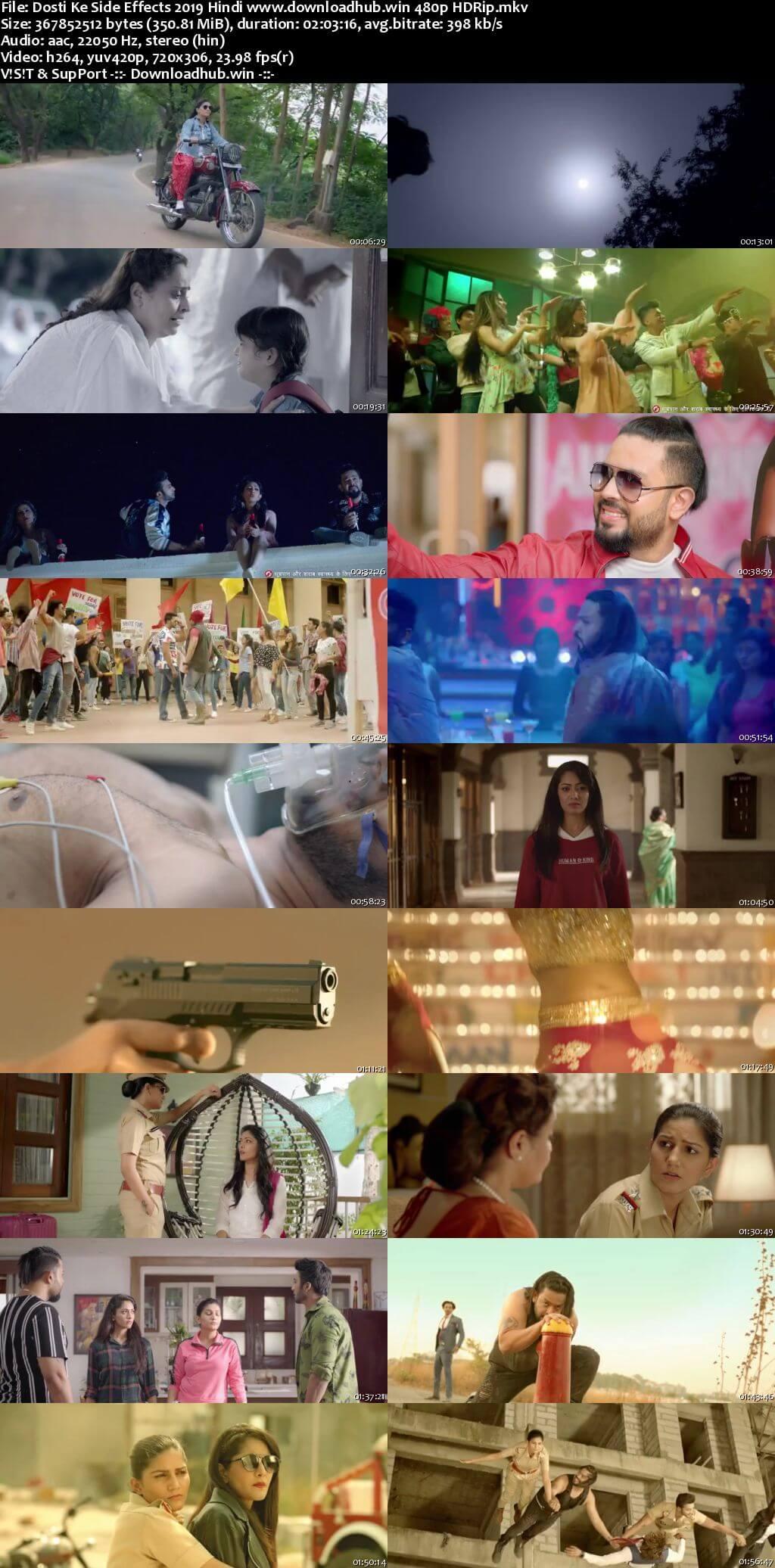 Dosti ke side effects 2019 Hindi 350MB HDRip 480p