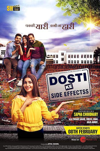 Dosti ke side effects 2019 Hindi 350MB HDRip 480p