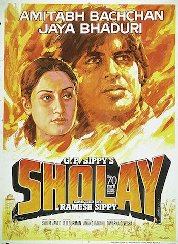 Sholay 1975 Hindi 720p DVDRip 1.5GB