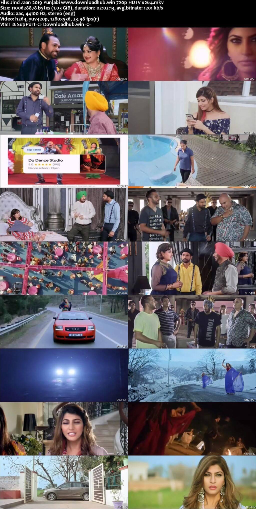 Jind Jaan 2019 Punjabi 720p HDTV x264