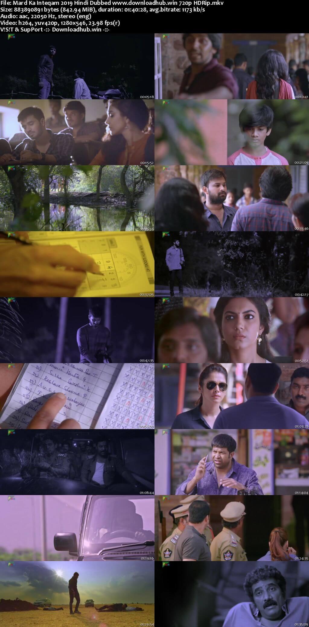 Mard Ka Inteqam 2019 Hindi Dubbed 720p HDRip x264
