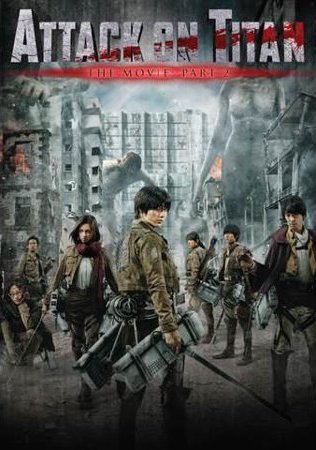 Attack On Titan 2015 UNRATED Dual Audio Hindi 720p BluRay 850MB