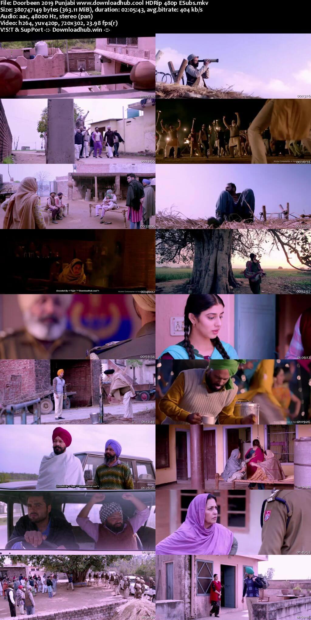 Doorbeen 2019 Punjabi 350MB HDRip 480p ESubs