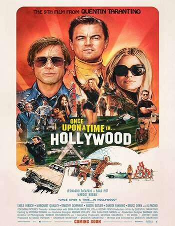 Once Upon a Time in Hollywood 2019 English 450MB HC HDRip 480p ESubs