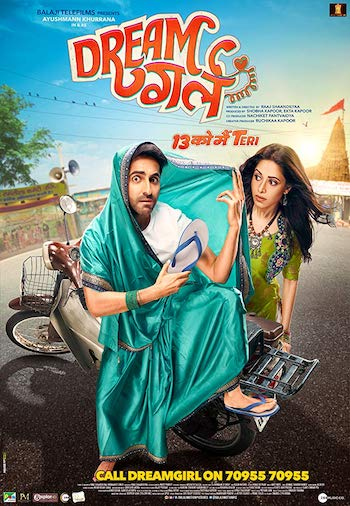 Dream Girl 2019 Hindi 720p WEB-DL 950MB
