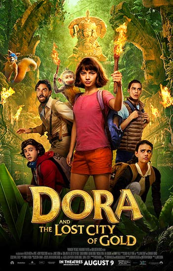 Dora And The Lost City Of Gold 2019 Dual Audio Hindi English BRRip 720p 480p Movie Download