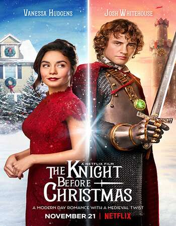 The Knight Before Christmas 2019 Hindi Dual Audio 300MB Web-DL 480p ESubs