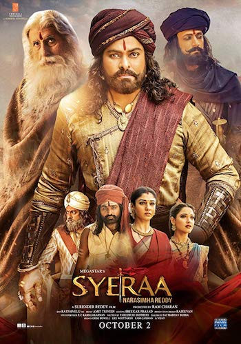 Sye Raa Narasimha Reddy 2019 Hindi (CAM Audio) 720p HDRip 1.2GB