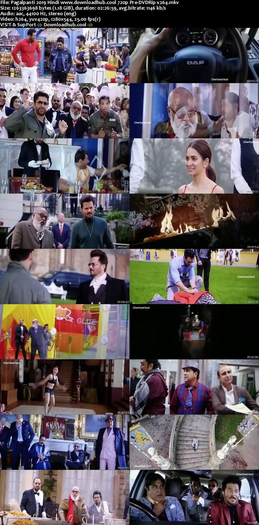 Pagalpanti 2019 Hindi 720p 480p Pre-DVDRip x264