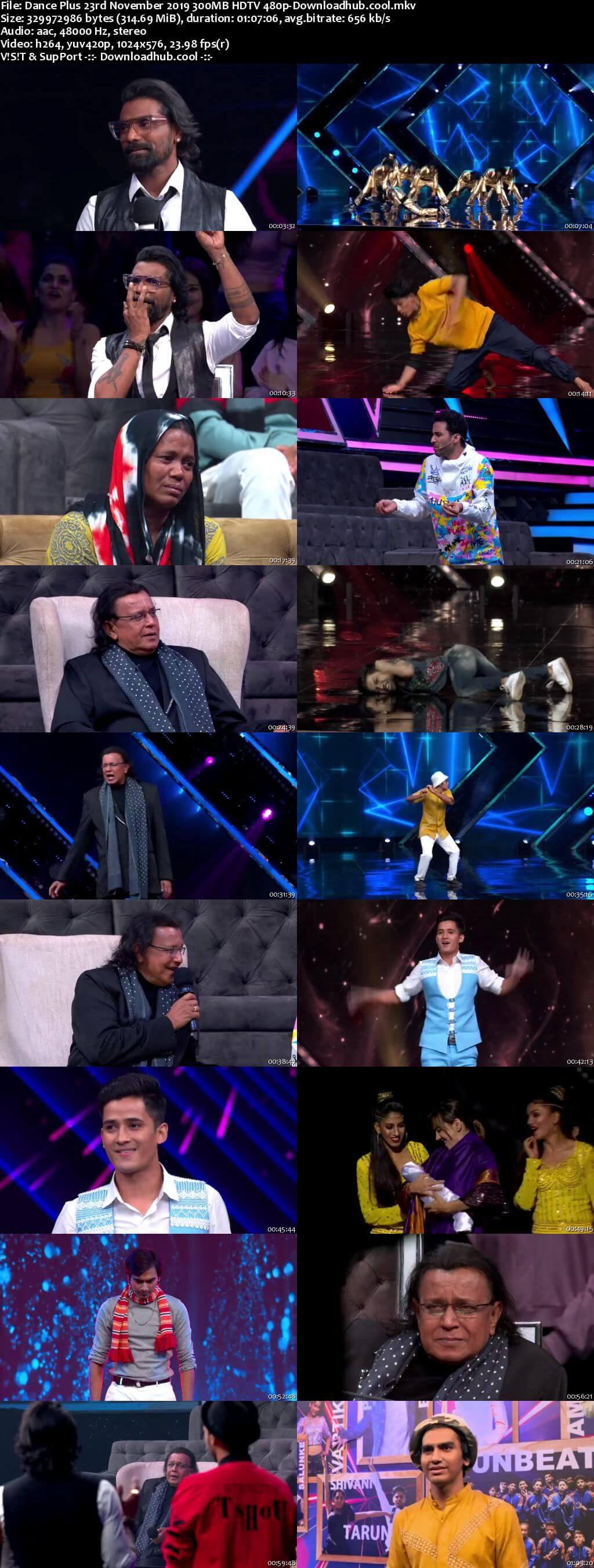 Dance Plus 23 November 2019 Episode 05 HDTV 480p