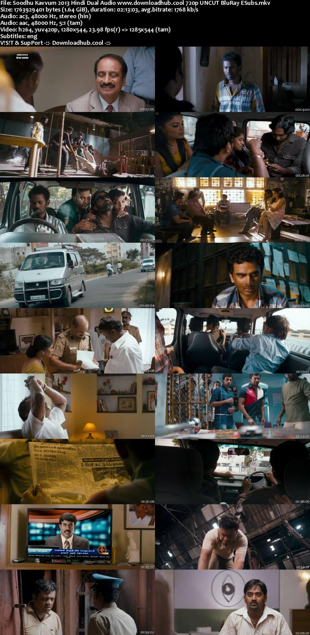 Soodhu Kavvum 2013 Hindi Dual Audio 720p UNCUT BluRay ESubs