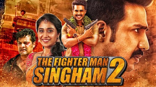 The Fighter Man Singham 2 (2019) Hindi Dubbed 720p HDRip 850mb