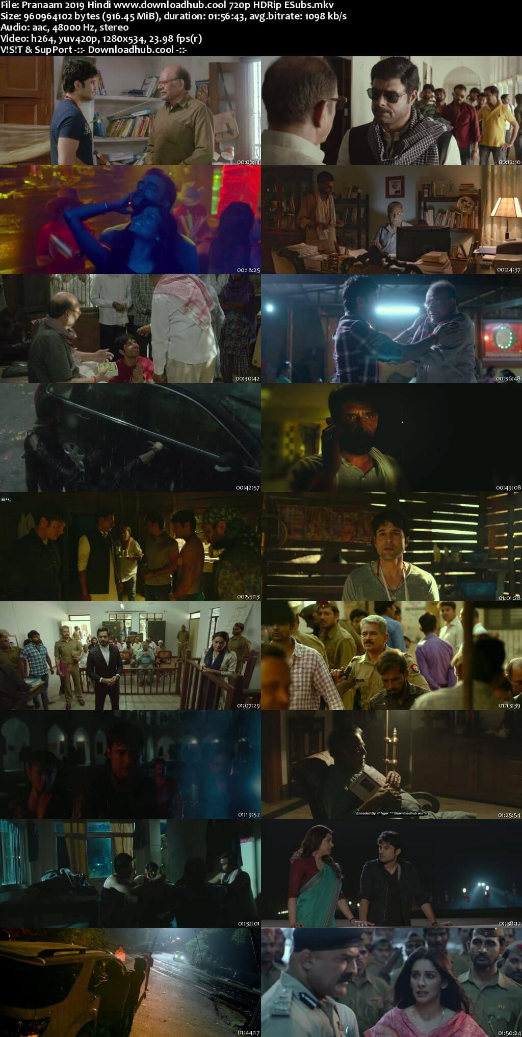 Pranaam 2019 Hindi 720p HDRip ESubs