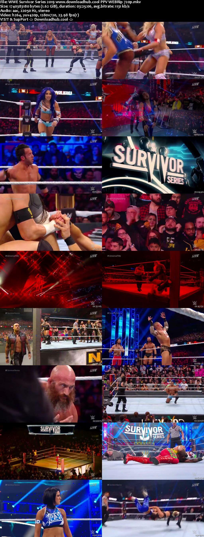WWE Survivor Series 24th November 2019 720p 800MB PPV WEBRip 480p
