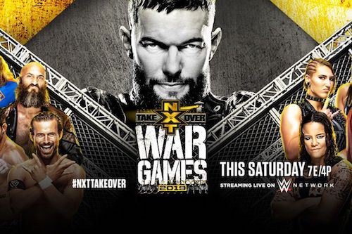 WWE NXT TakeOver WarGames 23rd November 2019 720p 600MB WEBRip 480p